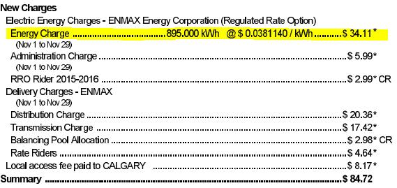 calgary enmax energy charges