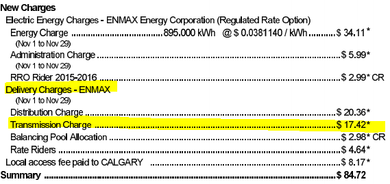 calgary enmax transmission charges